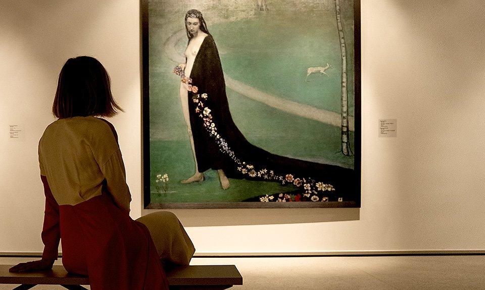 Ромен Брукс. «Весна» («Женщина с цветами»). 1912. Фото: ГМИИ им. А.С.Пушкина
