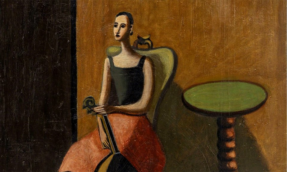Вера Пагава. Composition with Anita. 1930. Фото: The Jeanne Bucher Jaeger Gallery