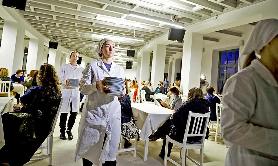 Фабрику-кухню приспособили для производства духовной пищи